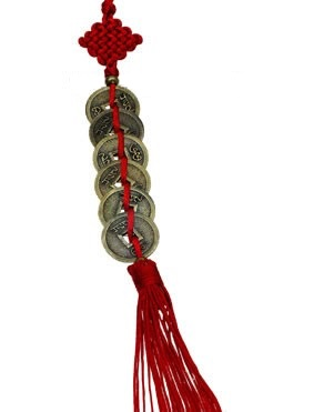 6 coins on red tassel_New