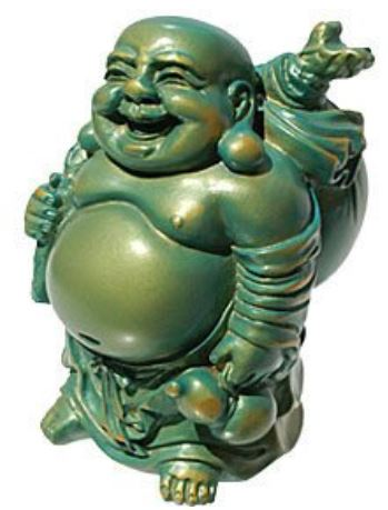 Laughing Buddha_Acqua Gold