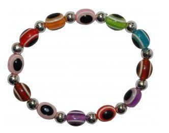 Evil Eye Bracelet_rainbow colours